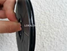 Свинцовая витражная лента EBONY (эбони) 12 mm / 50м