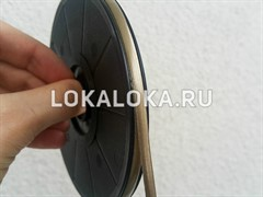 Свинцовая витражная лента GOLD (голд)  9 mm /50m
