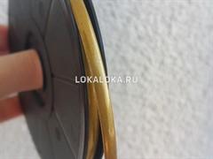 Свинцовая витражная лента GOLD SHIMMER (голд шиммер) 4,5 mm/ 10m