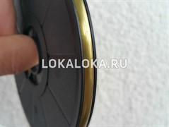 Свинцовая витражная (декупажная) лента BRASS SATIN  (брасс сатин) 3 mm (на отрез)