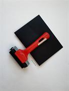 Валик прижимной резиновый - Rubber roller / 75 mm