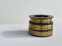 Свинцовая витражная (декупажная) лента Brass (брасс) 3 mm /8 m (винтажная)