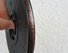 Свинцовая витражная лента Antique cooper 9 mm (антик купер) mm / 50 m