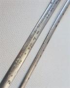 Свинцовая витражная (декупажная) лента PLATINUM ВИНТАЖ (платинум) 6 mm (на отрез)